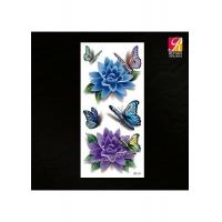 Buy cheap Butterfly Color Temporary 3D Tattoo 3D-13 from wholesalers