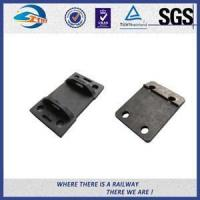 Buy cheap OEM Cast Steel Railroad Tie Plates For Rail Construction , Rail Base Plate from wholesalers