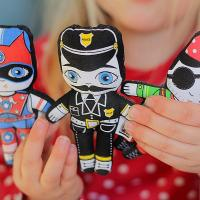 Buy cheap Social play Flip doll: mini set of 3 boy dolls from wholesalers
