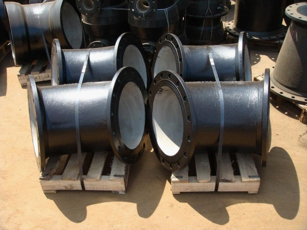 Ductile iron pipes fitting