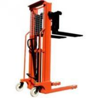 Buy cheap workshop mini hand winch stacker machine product