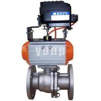 "Buy cheap QYH641 pneumatic O""type regulative cutting off ball valve from wholesalers"