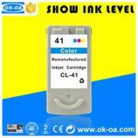 Buy cheap High quality chip reset ink cartridge for Canon PG 41 with factory price from wholesalers