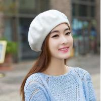 Buy cheap womens autumn and winter dress wool hats and leisure beret wholesale from wholesalers