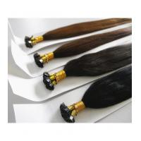 Buy cheap Keratin Bonding Hair Extensions Remy Echthaar Strahnen from wholesalers