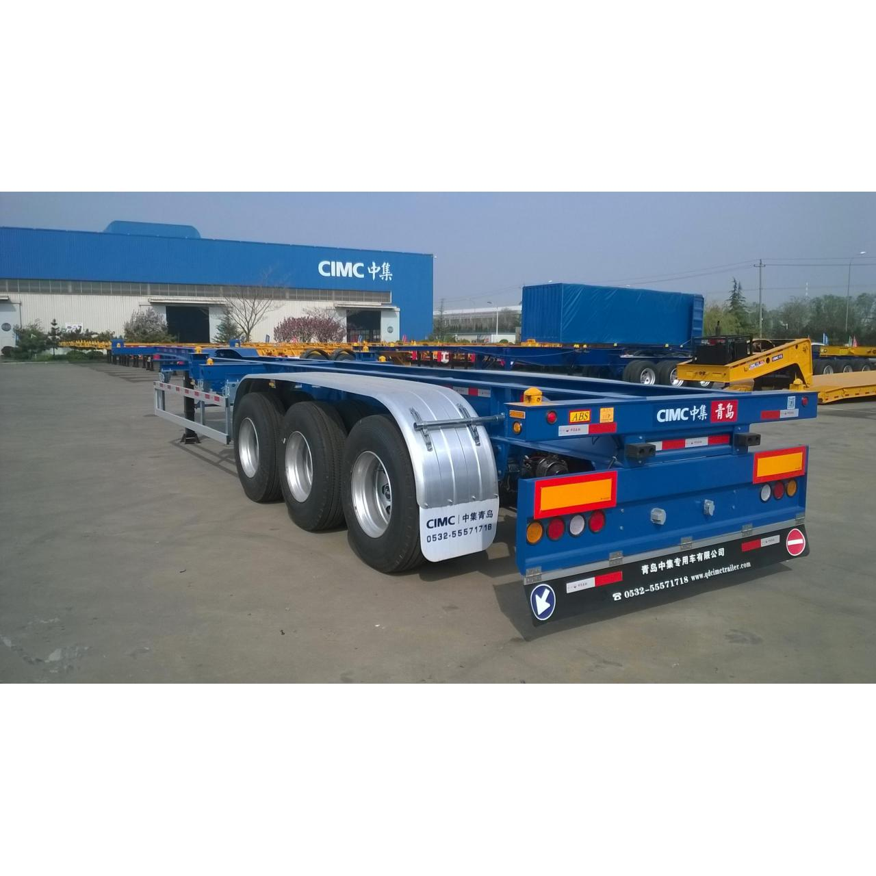 Buy cheap 40ft Combo Container Chassis/Container seimitrailer from wholesalers