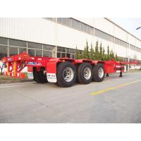 Buy cheap 40ft Gooseneck Type Container Chassis/Container Semitrailer/40ft Container Trailer from wholesalers