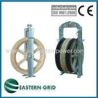 Buy cheap power transmission lines stringing pulleys as Tesmec china from wholesalers