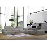 Buy cheap L shape leather sofa 8201 product
