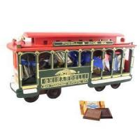 Buy cheap For Him Large Wooden Cable Car with Squares Chocolates from wholesalers