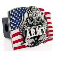 Buy cheap For Him Army Trailer Hitch Cover from wholesalers