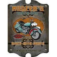 Buy cheap For Him Biker Bar Sign - Personalized from wholesalers
