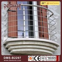 Buy cheap Stainless steel cable railing simple steel wire grill design for balcony from wholesalers