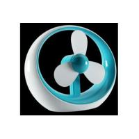 Buy cheap New Mini Portable USB Battery Powered Soft Fan Blade Desktop Quite Cooling Fan from wholesalers