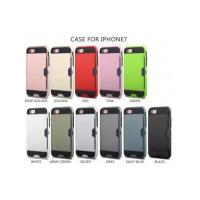 Buy cheap Rugged Shockproof case For iphone 7/7 plus - 11 Colors Armor phone case wholesale from wholesalers