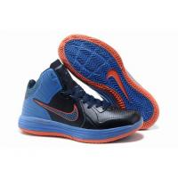 Buy cheap 2013 Cheap Nike Lunarlon Hypergamer Shoes Black Blue Orange from wholesalers