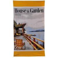 Buy cheap House and Garden Magazine Beach Towel - Lake House Scene - Out of Stock from wholesalers