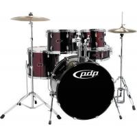 Buy cheap Drums PDP Z5 5 Piece Drum Set Black Cherry from wholesalers