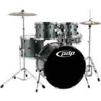 Buy cheap Drums Pacific Z5 5 Piece Drum Set Black Cherry from wholesalers