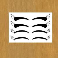 Buy cheap eye liner body art temporary tattoo for makeup from wholesalers