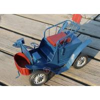Buy cheap Tin Truck Vintage Mediums Scale Red /Blue Handmade Tinplate Tractor Model from wholesalers