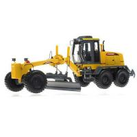 Buy cheap Bulldozer 1:35 White / Green / Yellow Kids Die-Cast Bulldozer Grader Toy from wholesalers