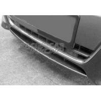 Buy cheap FRONT BUMBER ADD REAL CARBON LIP SPOILER for AUDI A5 2D 4D 2009-2011 from wholesalers