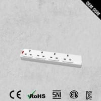 Buy cheap Top Quality 4 Outlet Pop BS Power Strip from wholesalers