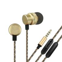 Buy cheap OEM-EM410 metal in ear 3.5mm stereo earphone from wholesalers