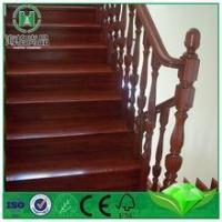 Buy cheap iron spiral staircase wood stair railing uk supplies direct from wholesalers
