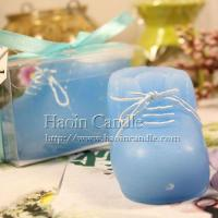 Buy cheap Blue Wholesale Baby Shoe Shaped Candle, Candle Manufacturer from wholesalers