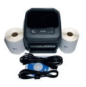Buy cheap Zebra ZP450 Label Shipping Printer Kit w 500 Labels from wholesalers