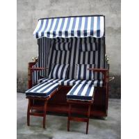 Buy cheap Double seat rattan/wicker beach chair & strandkorb from wholesalers