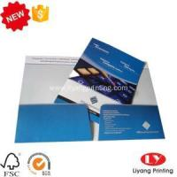 Buy cheap File Folder Office paper file folder with pocket printing from wholesalers