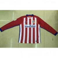 Buy cheap AAA(Thailand) Quality Atletico Madrid 15/16 Home Long Sleeve Soccer Jersey from wholesalers