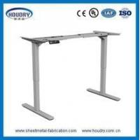 Buy cheap Adjustable height metal table leg office furniture electric adjustable desk from wholesalers