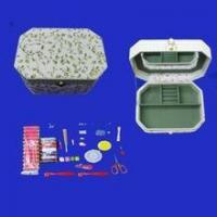 Buy cheap fabric sewing box from wholesalers