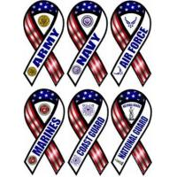Buy cheap Military Branch Ribbon Magnets from wholesalers