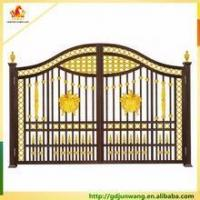 Buy cheap Customized colored aluminum fence , decorative aluminum fence panels , black aluminum fence from wholesalers