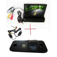 Buy cheap Wireless 4.3 inch Monitor CCD Car Reverse Camera for Hyundai SANTA FE Azera Santafe from wholesalers
