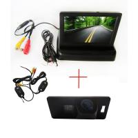 Buy cheap Wireless 4.3 inch Monitor Car Reverse Camera for AUDI A1 A4 A5 S5 Q5 TT VW Passat 5D R36 from wholesalers