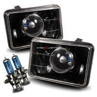 Buy cheap Headlights 4x6 Projector Headlights - Black H4651 H4652 H4656 H4666 from wholesalers
