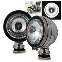Buy cheap Fog Lights Halo 4x4 Off Road Fog Lights - Chrome w/ Switch from wholesalers
