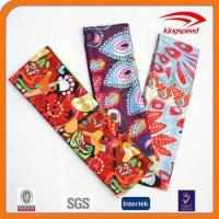 Buy cheap Flag of France printing Polyester wholesale lycra fabric headband from wholesalers
