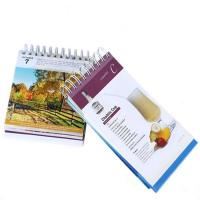 Buy cheap Fashion Hot Bulk Sell Manufacturer Custom Made Thick Stand Printing Calendar from wholesalers