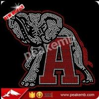 Buy cheap Alabama Football Rhinestone Transfer Hotfix Motif For T Shirts from wholesalers