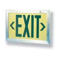 Buy cheap Photoluminescent Exit Signs PH924 Photoluminescent Exit Sign from wholesalers