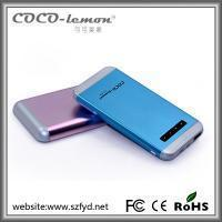 Buy cheap FYD-804: 5000mAh/6000mAh portable mobile phone charger for iphone/samsung and all smartphones from wholesalers