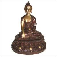 Buy cheap Bronze Sitting Buddha Sculpture from wholesalers