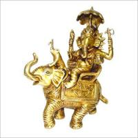 Buy cheap Hindu God Ganesha Brass Statues from wholesalers